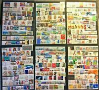 Germany Stamp Collection Used - 600 Different Commemorative Stamps per Lot
