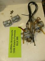 1999 SKI-DOO FORMULA DLX 380 fan deluxe MIKUNI MIC CARBS oem carburetors choke