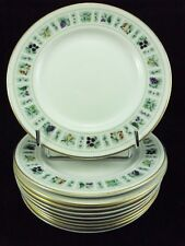 ROYAL DOULTON- SERVICE TAPESTRY- 10  ASSIETTES A PAIN Ø 16.5 CMS