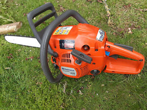 Husqvarna Chainsaw 235 E-Series, 16in X-Torq - Good Chain, Good Runner