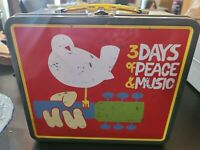 WOODSTOCK 1969 THEMED METAL LUNCHBOX SUCCESS PROMOTIONS MUSIC FESTIVAL...
