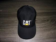 CAT Heavy Construction Machinery Farm Gear Brand Mens Black Logo Baseball Hat