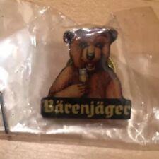 BARENJAGER Honey Liqueur OKTOBERFEST Bear Pin Button Bartender Liquor German