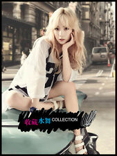 Taeyeon Long curly fluffy Blond Korea girl's fashion Wig Hair +Wig cap+Free ship