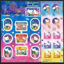 JAPAN 2012 Hello Kitty Zeichentrickfiguren Kleinbögen ** MNH