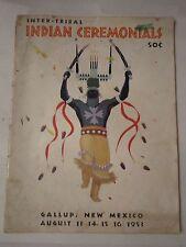 1953 INTER-TRIBAL INDIAN CEREMONIALS MAGAZINE - NICE - TUB BN-14