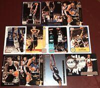 Tim Duncan San Antonio Spurs NBA HOF basketball card collection LOT  Wake Forest
