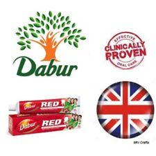 NEW Dabur Red Toothpaste Teeth Gums Pyria Gingivitis Vegetarian Ayurvedic Halal