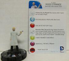 Heroclix Batman set Hugo Strange #039 Rare figure w/card and brand new