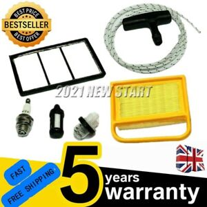 Air Filter Plug Primer Pull Cord Service Kit Fits Stihl TS410 TS420 NS