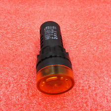 AD16-22SM AC 12V 22mm Flash Light Red LED Active Buzzer Beep Indicator 1PCS