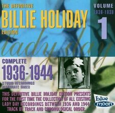 Billie Holiday-COMPLETE 1936-38 studio recordings CD NEUF