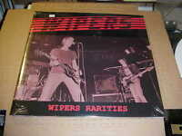 LP:  WIPERS - Wipers Rarities  NEW SEALED 2xLP IMPORT