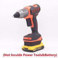Dewalt 20V(Max) Slider Li-ion Battery to Black&Decker 20V Cordless Tools Adapter