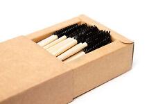 Eco-Friendly bamboo mascara wand (100% recyclable) Single use Eyelashes wand