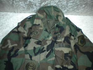 ORIGINAL  MILITARY ARMY M65 FIELD JACKET WOODLAND CAMO FELDJACKE GENUINE ISSUE