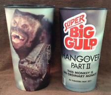 "HANGOVER 2 MOVIE - 7/11 SUPER BIG GULP Promo Cup - Crystal the Monkey ""MONKEY"""