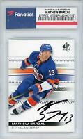 Mathew Barzal New York Islanders Autographed 2019-20 SP Authentic #93 Card
