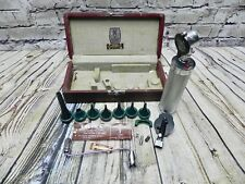 PHYSICIAN OTOSCOPE OPHTHALMOSCOPE WELCH ALLYN SKAN FALLS NY Vintage FREE SHIP