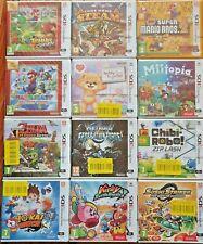 *New & Sealed* Nintendo 3DS Games - Buy 1 or Bundle Up & Save! Super Mario Zelda