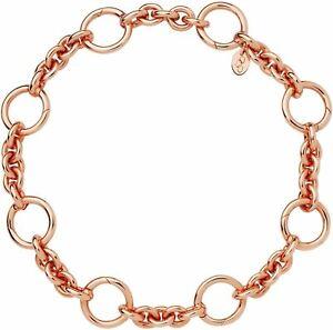 LINKS OF LONDON Ladies Capture Rose Gold Vermeil Link Loop Bracelet NEW RRP275