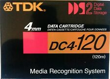 CINTA VIRGEN DAT AUDIO (120m.)  y DATOS 4mm.TDK DC-4 120