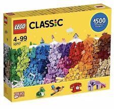 LEGO Classic 10717 - 1,500 Pieces Bricks, Bricks, Bricks Gift Set - Brand New