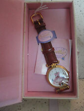 Disney Cinderella 45TH ANNIVERSARY WATCH CINDERELLA DRESS WITH BIRDS new box