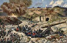 3911/ Künstler AK, Eroberung Fort Manonviller, 28.8.1914