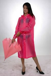 Lackina-- EVA Regen Mantel, pink