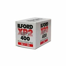 2 Ilford XP2 400 ASA 35mm 36 exp Black and White Print c41 Camera Film