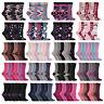 Jennifer Anderton - 6 paires femme chaussettes coton fantaisie coloré avec motif