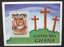 GHANA 1984 Easter. SOUVENIR SHEET. Mint Never Hinged. SGMS1103.