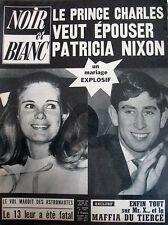 BERNARD BLIER ET LES FEMMES CHARLES PATRICIA NIXON NOIR ET BLANC N 1307 de 1970