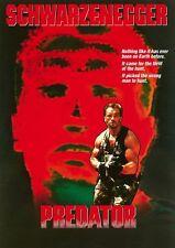 Predator movie poster print  : Arnold Schwarzenegger : 12 x 17 inches