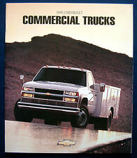 Prospekt brochure 1995 Chevrolet Chevy Commercial Trucks (USA)