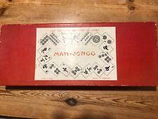 Vintage Mah- Jong Boxed Game