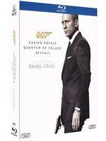 007 - DANIEL CRAIG BOX  3 BLU-RAY  COFANETTO  AZIONE