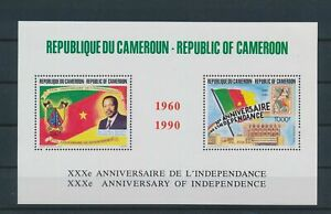 LO29230 Cameroon 1990 independence anniversary good sheet MNH