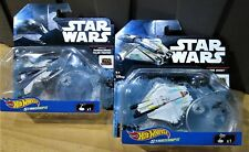 Star Wars Hot Wheels diecast bundle REBELS ghost & mandalorian talon fighter