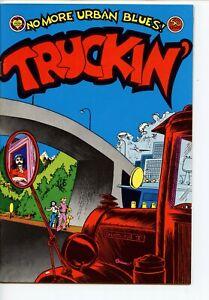 Truckin' #1 Print Mint George Metzger 1972 FINE+