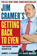 Jim Cramer's Getting Back to Even, James J. Cramer, 1439158010, Book, Acceptable