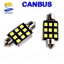 2×SAMSUNG 9 SMD 6418 LED Girlande/Feston Kennzeichenleuchte Glühbirnen 38mm