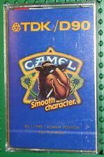 TDK  D    90    CAMEL   BLANK CASSETTE TAPE  (1) (SEALED)
