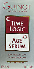 Guinot Time Logic Age Serum Face And Neck Care Atp 25ml(0.84oz) Actinergie Fresh