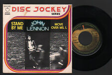 """7"""" BEATLES JOHN LENNON STAND BY ME / MOVE OVER MS. L APPLE ITALY 1975 05880"""