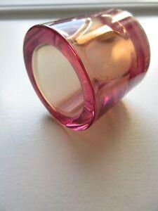 Xlnt Rare Iittala Kivi RoseOlive colourchange CandleHolder See Full Description