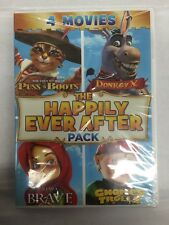 The Happily Ever After Pack Puss 'N Boots / Donkey X / Kiara The Brave / E29