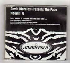 (IS483) David Morales pres. The Face, Needin' U - 1998 DJ CD