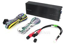 New Pioneer GM-D1004 400 Watt 4-Channel Car Small Compact Amplifier Class FD